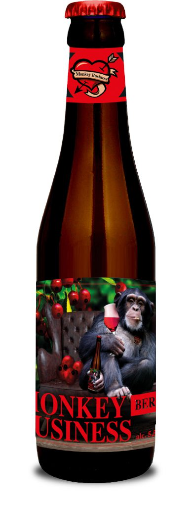 Monkey Business Berry - Brouwerij Wolf