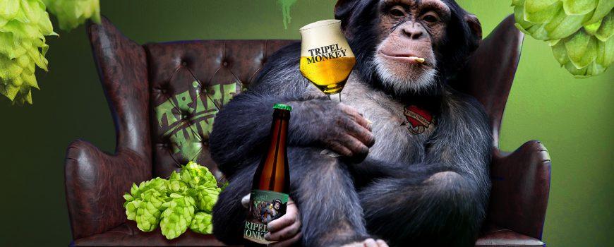 Tripel Monkey - Nieuwste Wolf bier