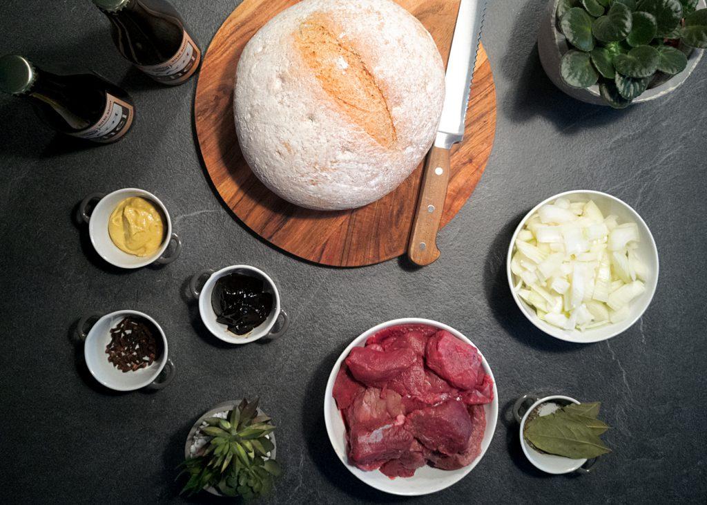 Vlaamse Stoofvlees met Trappist Achel Bruin - Ingredienten