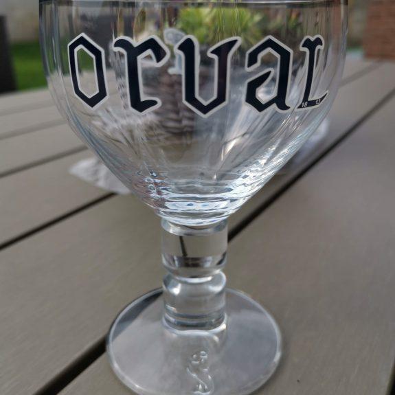 Orval glas voorzijde