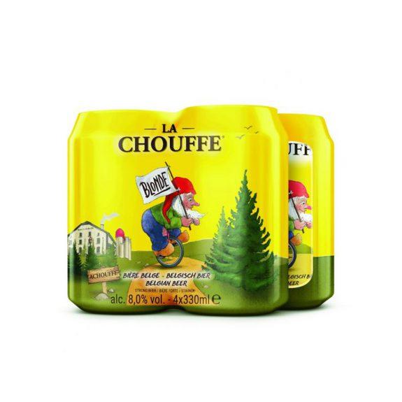 La Chouffe Blond (4 blikken)