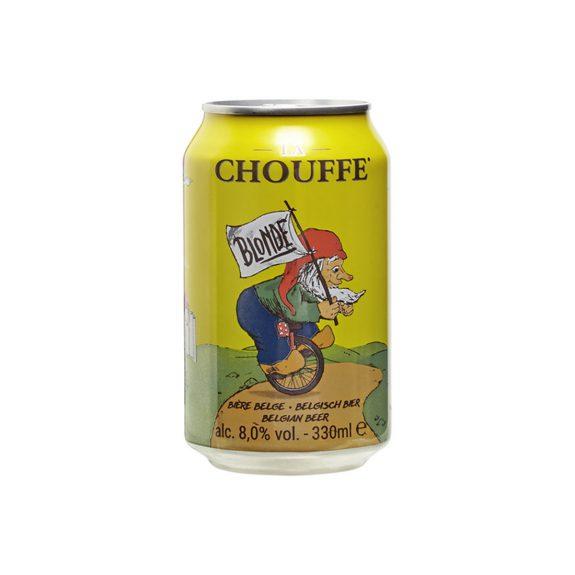 La Chouffe Blond (blik)