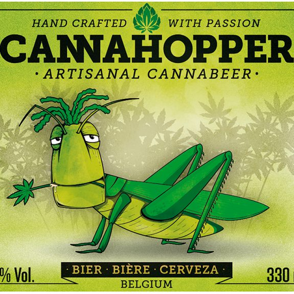 Cannahopper etiket