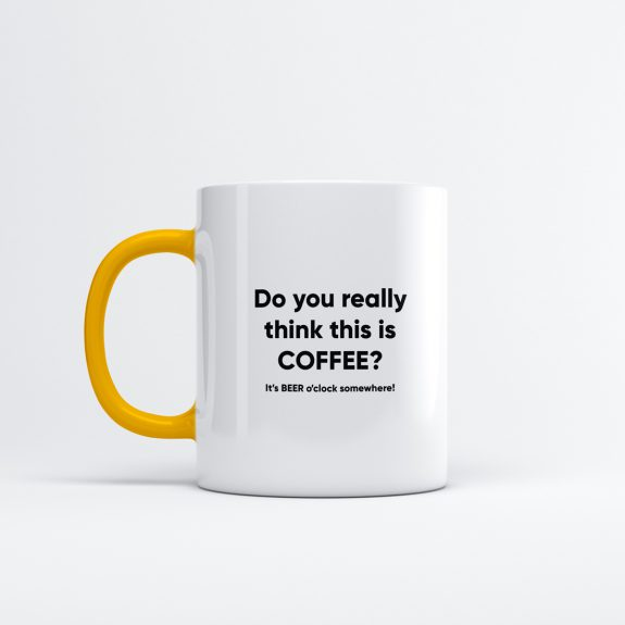 Koffiemok - Do you really think this is coffee?