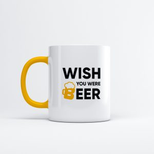 Koffiemok - Wish you were beer