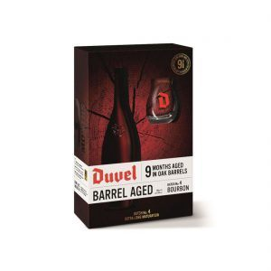 Duvel Barrel Aged Batch No. 4 Bourbon