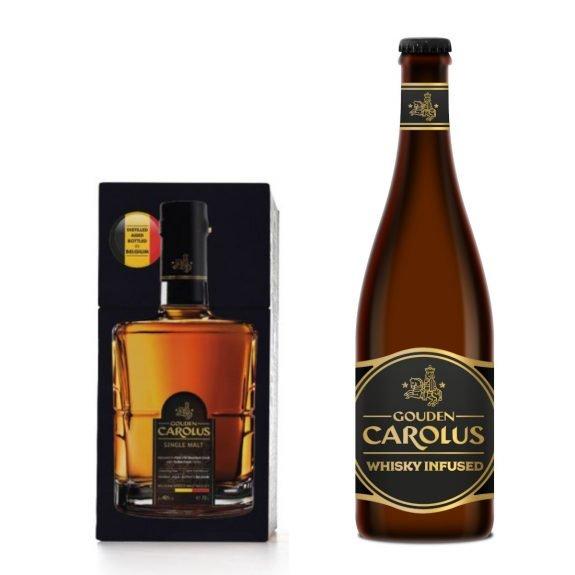 Gouden Carolus Whisky Infused + Gouden Carolus Single Malt