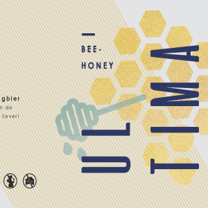 Ultima Bee-Honey etiket