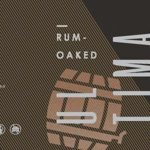 Ultima Rum Oaked etiket