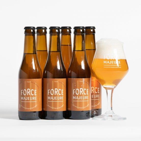Force Majeure Tripel pakket met glas