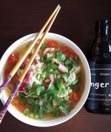 Glutenvrije Pho Bo met Gemberbier - Bierwebshop