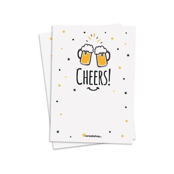 Wenskaart Cheers!