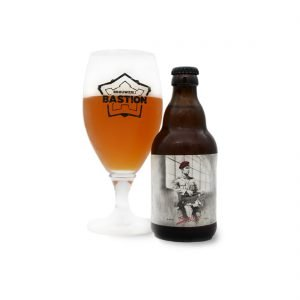 Baret glas - Brouwerij Bastion