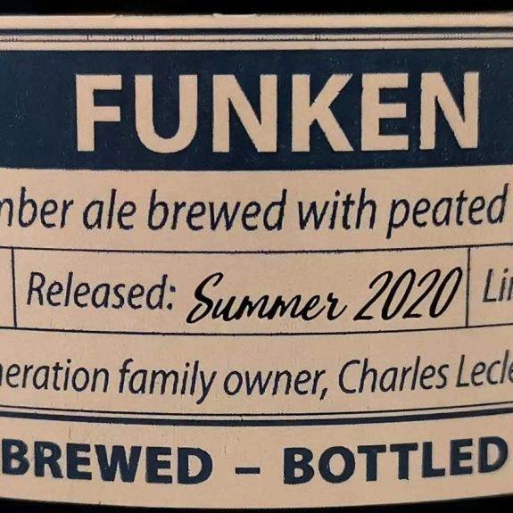 Gouden Carolus Indulgence 2020 - Funken (label)