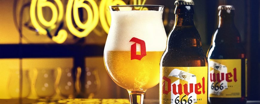Duvel 666 visual with neon