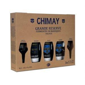 Chimay Grande Réserve Trilogie - zijkant
