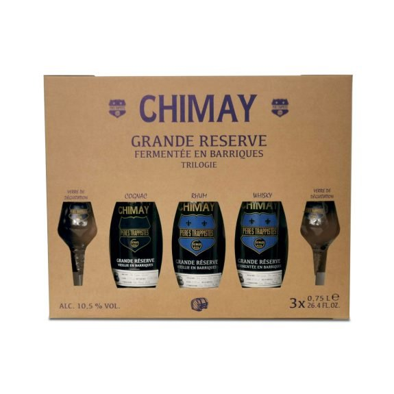 Chimay Grande Réserve Trilogie - voorkant