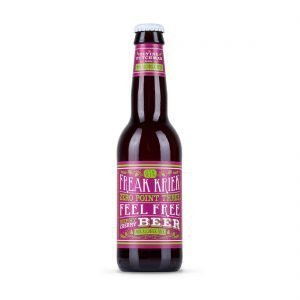 Freak Kriek Zero Point Three Feel Free Merry Cherry Beer