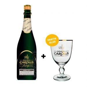 Gouden Carolus Indulgence - Anno 1521 + gratis glas